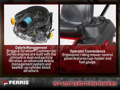 2018 Ferris IS® 600Z Kawasaki® FS600V 44 | Big Delta